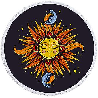 Asciugamano da spiaggia Sole e Luna