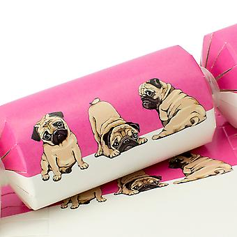 10 grandes e bonitos rosa pug cracker boards e snappy strips - Make Your Own