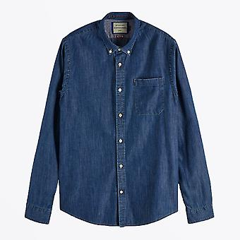 Scotch & Soda  - Classic Denim Shirt - Blue