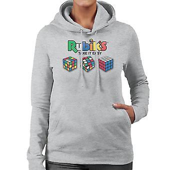 Rubik's Take It Easy Women's Hooded Sweatshirt
