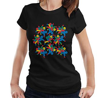 Twister Players In Knots Women's T-Shirt