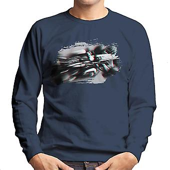 Motorsport Bilder Romain Grosjean Lotus E21 Renault Spanisch GP Herren's Sweatshirt