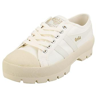 Gola Coaster Peak Womens Plattform Utbildare i Off White