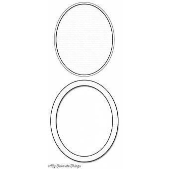 My Favorite Things Die-Namics Oval Shaker Window & Frame