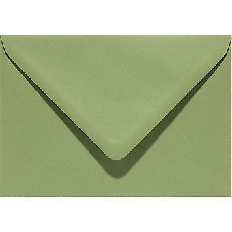 Papicolor 6X Envelop C6 114x162 mm Armygreen