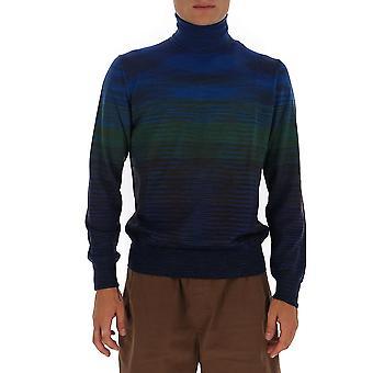 Missoni Mun00143bk00m0s70jj Men's Multicolor Wool Sweater