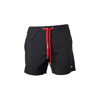 Heren Supreme Grip Black Swim Shorts