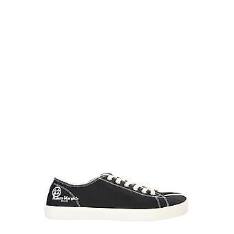 Maison Margiela S57ws0252p1875t8013 Men's Black Fabric Sneakers