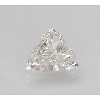 معتمد 1.25 قيراط D VVS2 مثلث تعزيز الطبيعية فضفاضة الماس 8.73x8.24mm