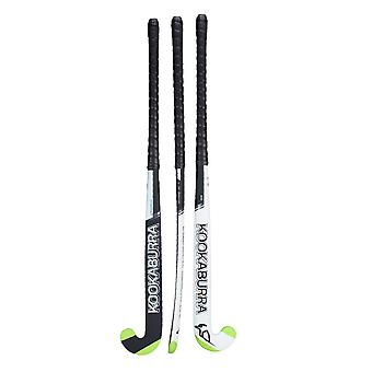 Kookaburra 2019 Mono M-Bow 1.0s Field Hockey Stick Black/White/Green
