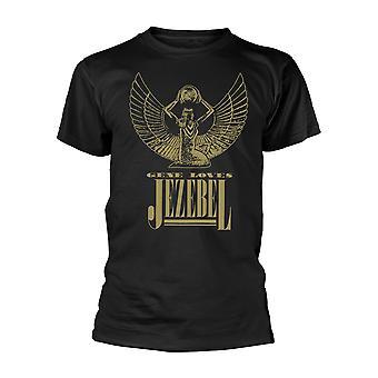 Gene Loves Jezebel Logo Official Tee T-Shirt Unisex