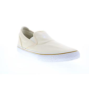 Emerica Wino G6 Slip On x SB Reserve Mens Beige Tan Leather Sneakers Shoes