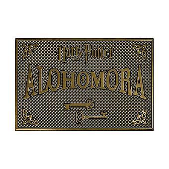 "Harry Potter Gold ""Alohomora"" Rubber Grip Doormat"