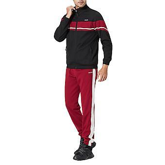 Allthemen Men's Casual Fashion Zipper Långärmad sportdräkt höst