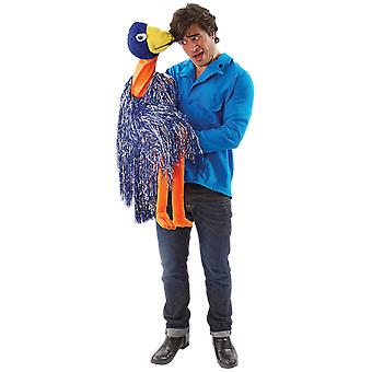 Orion kostuums mens Rob en EMU Bird Ventriloquist Puppet TV fancy dress