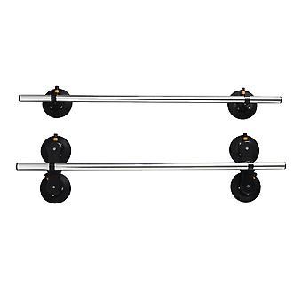 roof rack Monkey Bars 122 cm silver/black