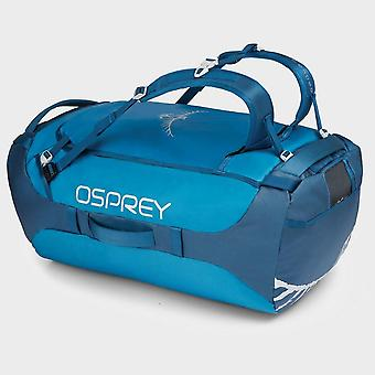 Nuevo Osprey Transporter 95 Duffel Bolsa Azul/Aqua/Azul