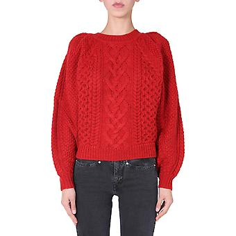 Isabel Marant ÉToile Pu134320a009e70rd Women's Red Wool Sweater