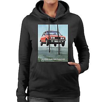 Austin Allegro 3 Better Than Ever British Motor Heritage Women's Hooded Sweatshirt