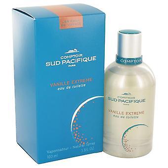 Comptoir Sud Pacifique Vanille Extreme Eau De Toilette Spray By Comptoir Sud Pacifique 3.3 oz Eau De Toilette Spray