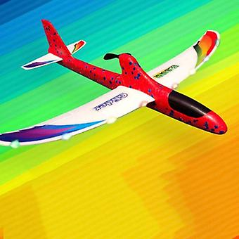 Rc Airplanes, Usb Charging Electric Hand Throwing Glider Diy Airplane- Toy