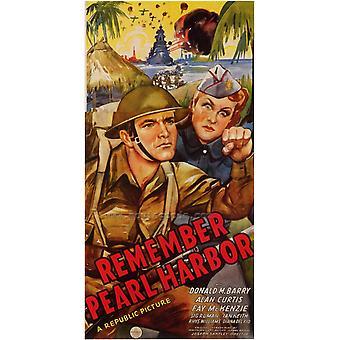 Denken Sie daran, Pearl Harbor Movie Poster drucken (27 x 40)