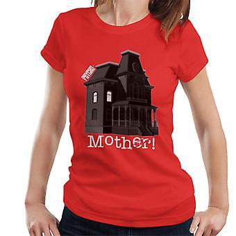 Psycho Norman Bates Kotiäiti Naiset't-paita