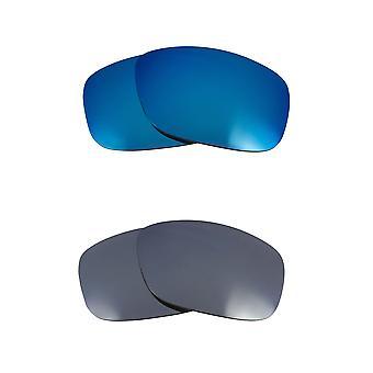 استبدال العدسات لOakley Flak 2.0 XL النظارات الشمسية متعددة الألوان المضادة للخدش المضادة للأشعة فوق البنفسجية 400 من قبل SeekOptics