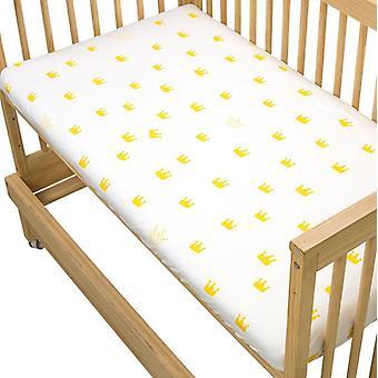 Recién nacido bebé colchón de la cubierta de la cuna Hoja de la cuna