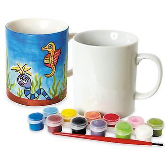 Toyrific paint your own mug mug (12 paints)