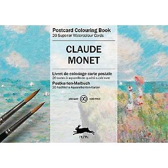 Claude Monet Carte postale Livre de coloriage Livre de coloriage de cartes postales