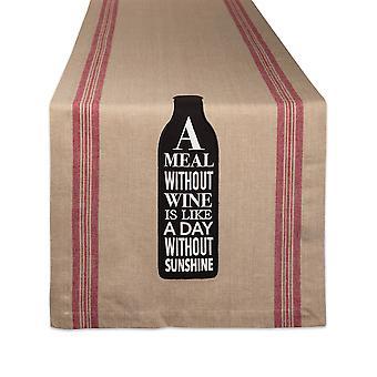 Dii Wine & Sunshine Table Runner