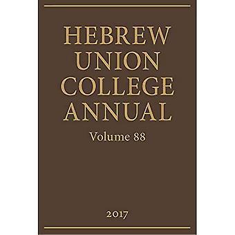 Hebrew Union College Annual� Volume 88 (Hebrew Union College Annual)