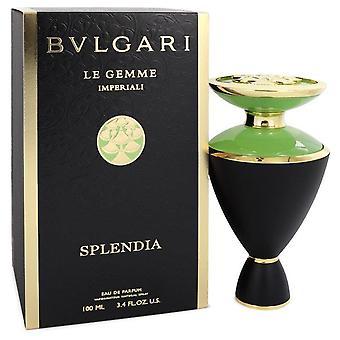Bvlgari Le Gemme Imperiali Splendia Eau De Parfum Spray Por Bvlgari 3.4 oz Eau De Parfum Spray