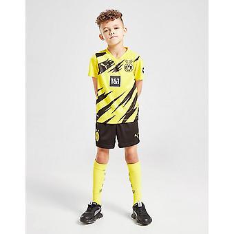 New Puma Boys' Borussia Dortmund 2020/21 Home Kit Yellow
