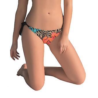 Aqua Perla Kobiety Rio Multicolor Bikini Bottom