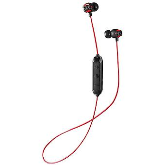JVC HA-FX103BT Bluetooth Wireless Headphones, Red with Remote Control