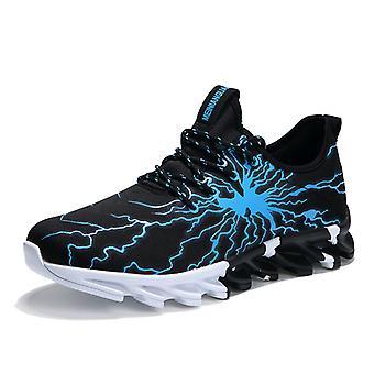 Zapatos de running transpirables para hombre YZ5 Blue
