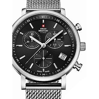 Reloj masculino militar suizo por Chrono SM34058.01, cuarzo, 42 mm, 10ATM
