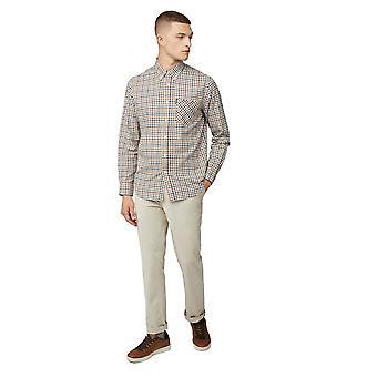 Ben Sherman Small Check Long Sleeve Shirt