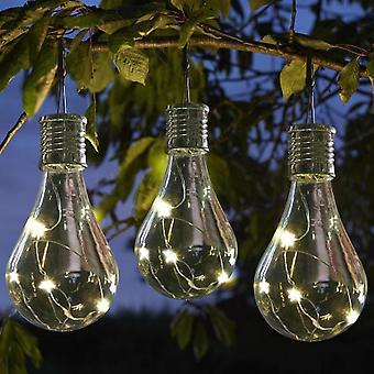 Wasserdichte Solar drehbare Outdoor-Garten - Camping hängende LED-Lampe Glühbirne