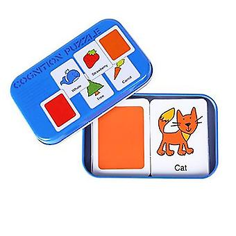 Portable Montessori Toy Puzzle Card