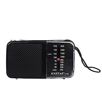 88-108MHz FM 530-1600KHz AM 2 العصابات استقبال الراديو للمسنين