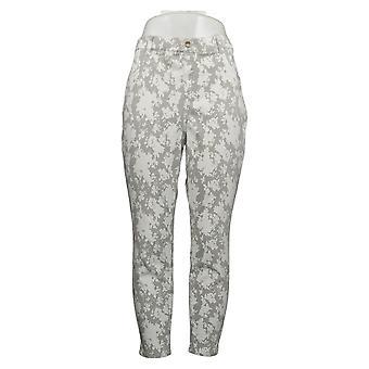 Legacy Women's Petite Pants Soho Stretch Twill Leggings White A377863