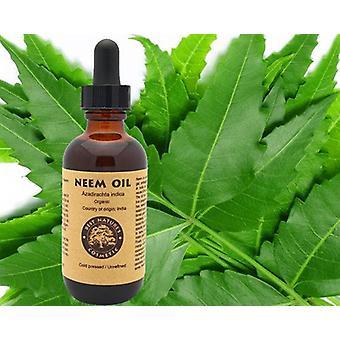 100% Pure Neem Oil 4oz (organic, Undiluted