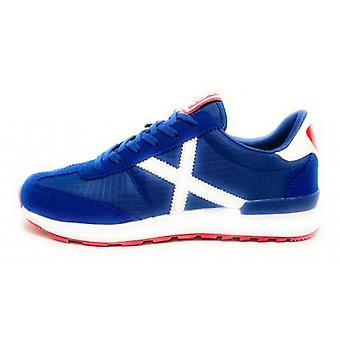 Munich Sneaker Running Dynamo Suede/ Nylon Blue 16 Us20mu10