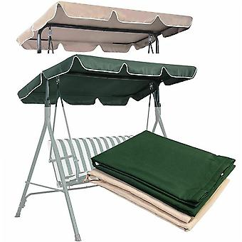 Seater Size Outdoor Garden Patio Swing Sunshade Cover Canopy Seat
