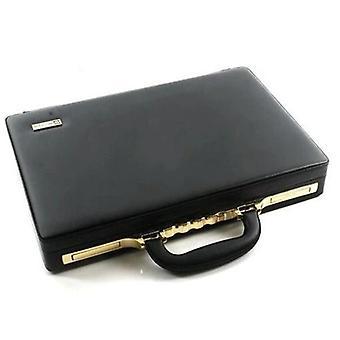 Leather Messenger Bag, Computer Box Briefcase For Business Men