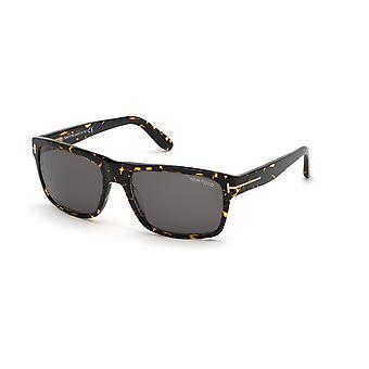 Tom Ford August TF678 52A Dark Havana/Brown Óculos de Sol