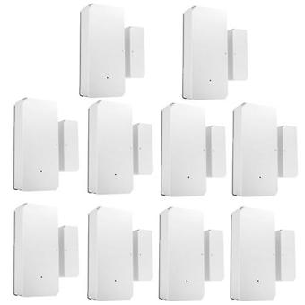 10PCS SONOFF DW2-RF-433MHZ sensor deur raam alarm sensor